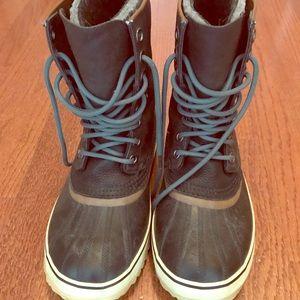 Sorel Waxed Cotton Men's Snow Boot M Sz 8